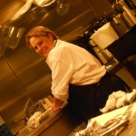 Working in the Galley on The Floridian Star Yacht