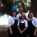 Kathy, Shawn, Katie & April at White House wedding